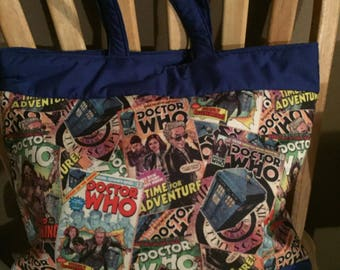 Dr. Who Tote Bag