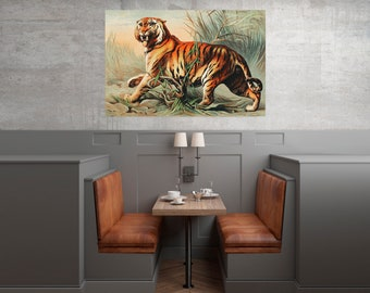Royal bengal tiger, instant download