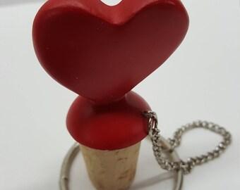 Heart Bottle Topper