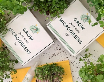 Grow Your Own Microgreens Kit