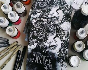INKtober 2014-2015 - art book