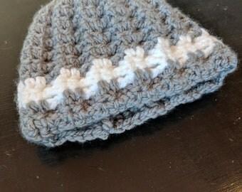 Child sized gray hat.