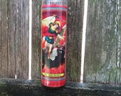 Obstacle Removing St Michael Candle by Ugly Shyla - blessed - charged - dressed - voodoo - Louisiana Born Cajun Voodoo Practitioner
