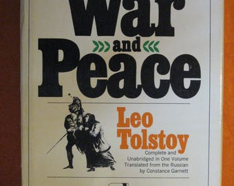 War and Peace by Leo Tolstoy (Modern Library, 1967)