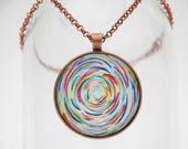Dancing Color Art Pendant...