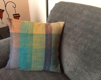 Artisan Pillow Cover, Square Pillow Sham, Sofa Pillow, Decorative Pillows, Accent Pillows, Pillow Cover, Home Decor, Bed Pillow