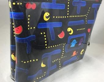 Make Up Bag - Pacman Zipper Pouch