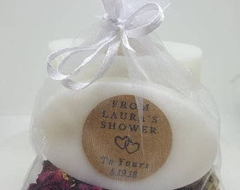 Bridal Shower Soap Favors - Mini Favors - Soap Favors - Guest Soaps - Bridal Shower Favor Soaps - Soap Gift - Bridal Shower Favors