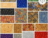 "Studio RK Gustav Klimt Precut 5"" Charm Pack Fabric Quilting Cotton Squares CHS-657-42 Robert Kaufman SQ117"
