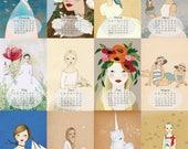 Custom listing for  Audrey Leon, 2018 Calendar