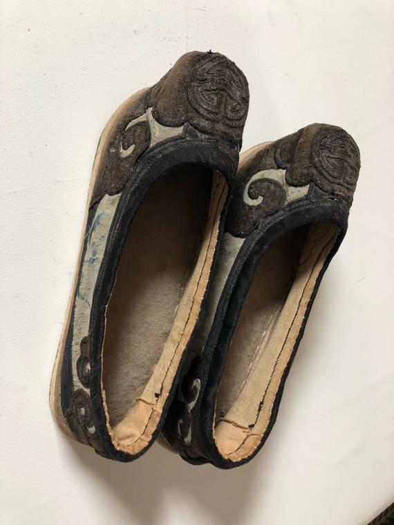1930 Manchu Shoes Chinese
