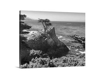 Carmel by the Sea, Monterey Bay, Big Sur California, California Coast, Pacific Ocean, Seventeen Mile Drive, Canvas Wrap, Picture Gift