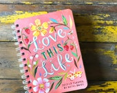 PRE-ORDER - 2017-2018 Planner | Love This Life | Katie Daisy Datebook