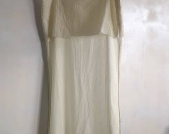 See through Bottega Veneta skirt cut off