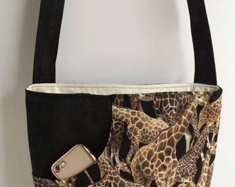 Giraffe Bag with Adjustable Strap