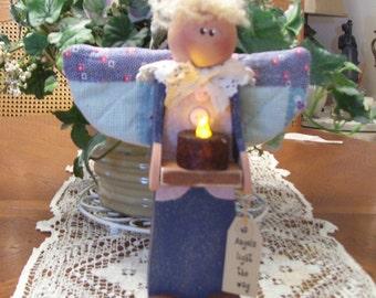 Angels light the way