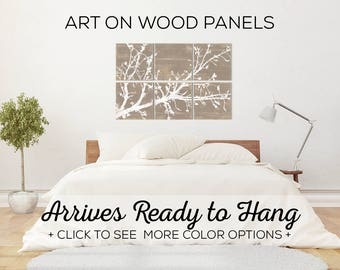 Tree Branches - Branch Wall Art - Tree Art - Cherry Blossom - Nature Inspired - Olive Branch Art - Rustic Home Decor - Rustic Tree Wall Art
