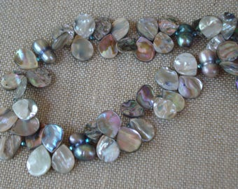 Pearl & Abalone Necklace