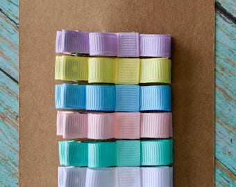 Perfect Pastel Clippie Set - Set of 6 Clippies