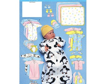 Butterick B5583 - Baby Accessories - Size Large