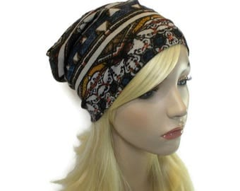 Fall Hats, Slouchy Beanie, Teenage Girl Gifts, Tribal Hat, Lightweight Beanie, Jersey Hat, Jersey Beanie, Street Style, Urban Streetwear
