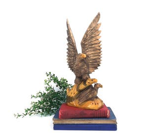 Eagle figure statue Etsy