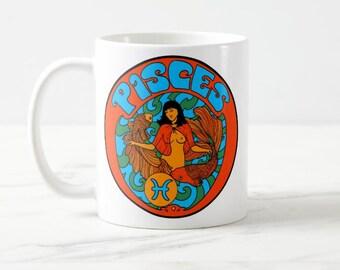 Pisces Birthday Gift... Pisces... Zodiac Gift... Pisces Gift... Astrology Gift... Coworker Gift... Co Worker Gift... Birthday Mug