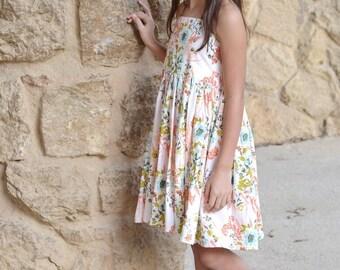 Elise Dress PDF Sewing Pattern, including sizes 3 months-12 years, Girls Dress Pattern, Halter Dress Pattern, Tween Dress Pattern