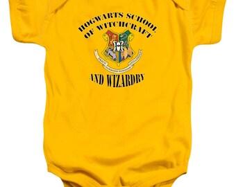 Hogwarts School of Witchcraft and Wizardry Baby Onesie, Baby Clothes, Baby Boy, Baby Girl, College, Baby Shower Gift, Newborn, Kids Clothes,