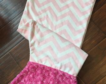 Mermaid Blanket- Personalized Mermaid Tail- Mermaid Tail Blanket