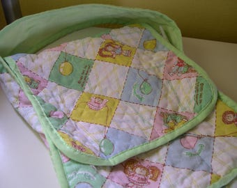 Vintage Cabbage Patch Kids Quilted Diaper Bag 1983