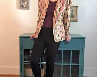 Vintage Geometric 80s Blazer