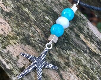 Beach memories Starfish pendant necklace