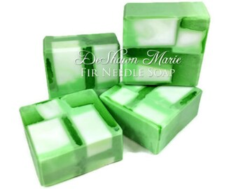 3.5 LB SOAP Loaf -  Fir Needle Soap, Christmas Soap Loaf, Wholesale Soap Loaves, Vegan Soap, Handmade Soap, Woodland Soap