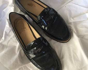 Coach Patent Leather Loafers