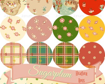 PREORDER Fat quarter bundle of Sugarplum by Heather Ross for Windham fabrics- 16 pieces Presale