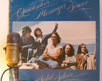 "ON SALE Quicksilver Messenger Service (featuring John Cippolina) Vinyl Record Album 1970s San Francisco Hippie Psychedelic Rock Acid ""Solid"