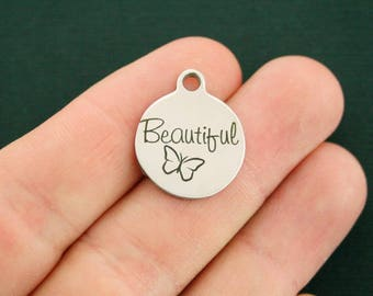 Beautiful Stainless Steel Charms - Exclusive Line - Quantity Options - BFS2422 NEW3