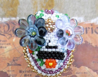 Day of the Dead Finger Cuff #2