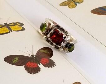 Rich Garnet Ring