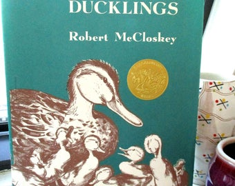 Make Way For Ducklings by Robert McCloskey/Hardcover with Dust Jacket
