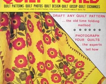 Quilt World Magazine Vintage June 1985 Quilting Patterns