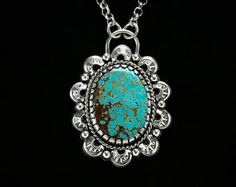 The Spirit Within - Turquoise Necklace