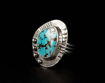 Turquoise Ring - Size 7-3/4
