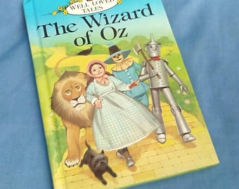 Vintage Ladybird Book The Wizard of Oz Series - 606D Well-Loved Tales - Easy Reading Grade 3 - Glossy Covers
