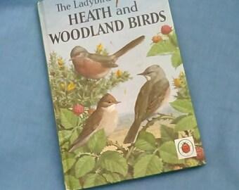 Heath and Woodland Birds - Vintage Ladybird Book Series 536 - 2/6 - 1968 - 1st Edition Matt Covers - Hardback