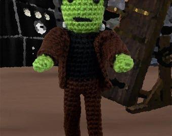 Crochet Pattern ~ Frankenstein's Monster ~ Crochet Pattern