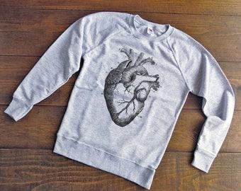 Anatomical heart sweatshirt,anatomy sweatshirt,medical sweatshirt,gift for doctor,science sweatshirt,sweatshirt mens,sweatshirts womens-SW13