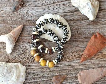 Tribal Wooden Bracelet