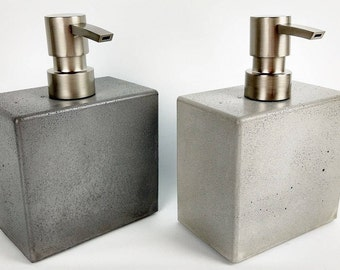 Concrete Soap Dispenser Bathroom / Concrete Soap Pump / Kitchen Soap  Dispenser Pump / Liquid Soap